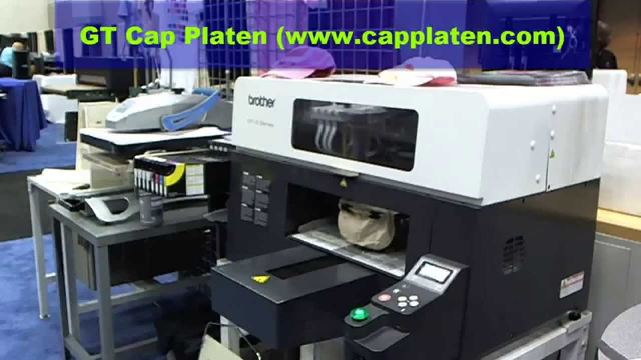 GT Cap Platen for Brother GT Printers - GarmentTools