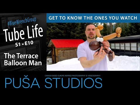 Puša Live Stream #018: Terrace the Balloon Man + Tek Talk Tuesday