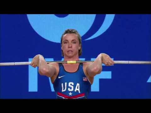 Women's 48 kg A Session Clean and Jerk - 2017 IWF Weightlifting World Championships (WWC)