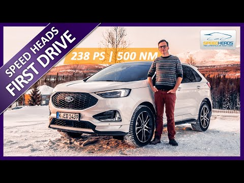 2019 Ford Edge ST-Line Test (Bi-Turbo mit 238 PS) - Fahrbericht - Review - Speed Heads