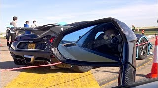 Koenigseggs EMBARRASS Supercars on a Closed Runway! *DRAG RACES*