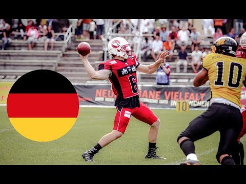 AMERICAN FOOTBALL in GERMANY!! (Munich vs Stuttgart)