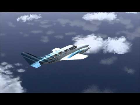 Carenado PIPER PA31 NAVAJO  AIRPORT DIEGO GARCIA