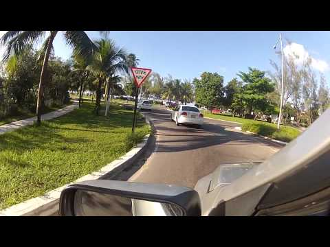 New Providence, Bahamas Virtual Tour: Drive around the ENTIRE island! Part 4