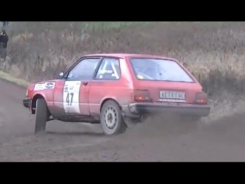Toyota Starlet Rallying!