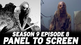 How The Walking Dead Mid-Season 9 Finale Compared To The Comics