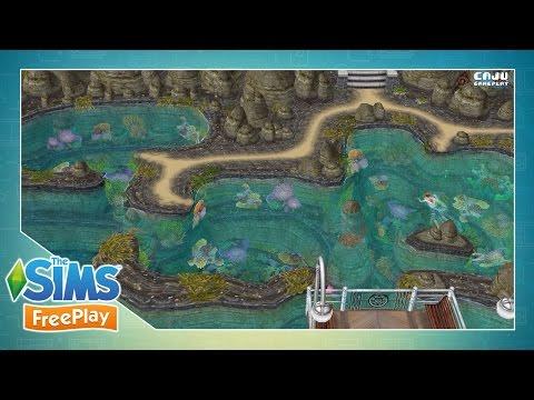 The Sims FreePlay: PRAIA PÚBLICA CHIQUERÉZIMA #46 | VEDA 6