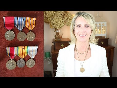 How to Repurpose Military Medals as Jewelry - DIY