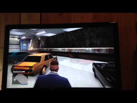 GTA 5 Online Bug Massive Dumpster Inside Garage