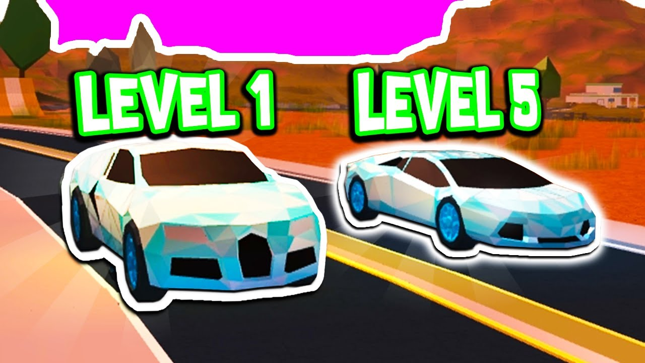 Level 1 Bugatti Vs Level 5 Lamborghini In Roblox Jailbreak Youtube