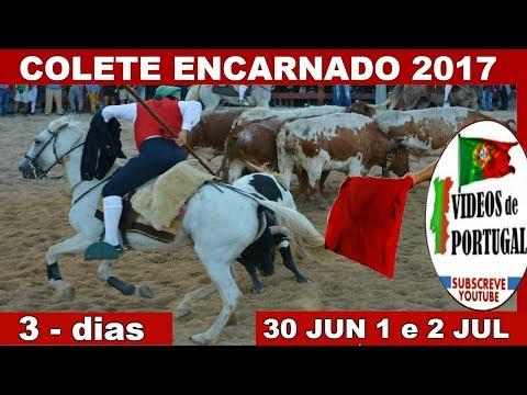 COLETE ENCARNADO 2017 Marradas Sustos Cornadas - Largada Touros Vila Franca