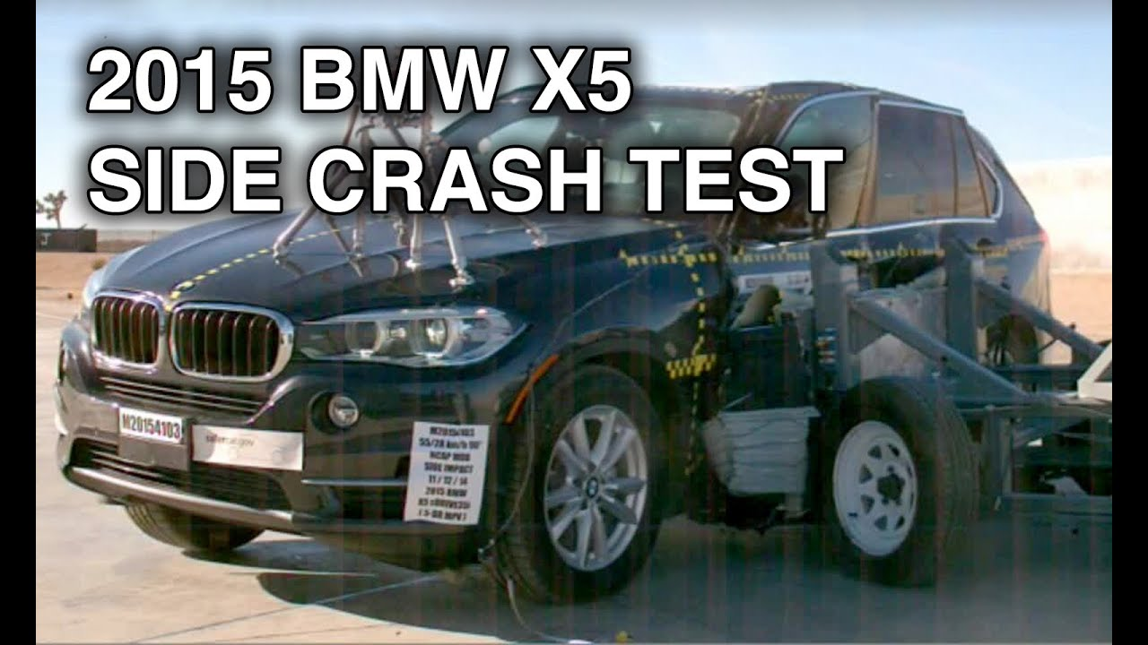 2015 Bmw X5 Side Crash Test Youtube