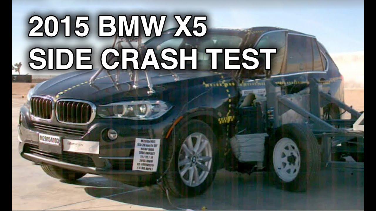 2015 Bmw X5 Side Crash Test Youtube