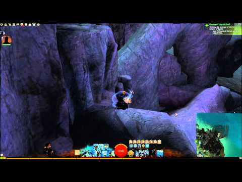 Guild Wars 2 : How to get to the Vista above Mirror Bay (Malchor's Leap)