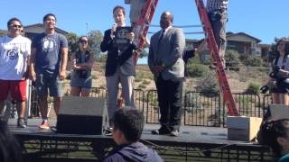 2013 UC Irvine Water Blaster Guinness World Record