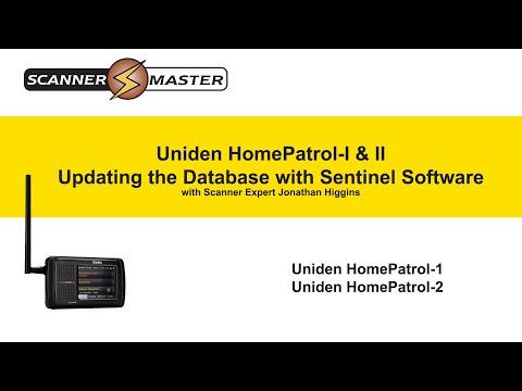 uniden scanner firmware updates