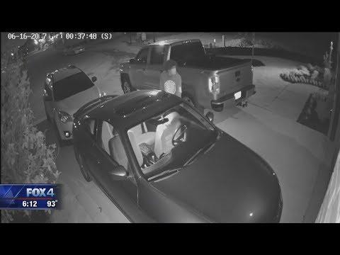 Fort Worth car burglaries