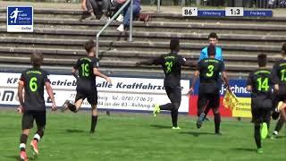 A-Junioren - 1:3 - Willibroad Gumuh Offenburger FV vs SGV Freiberg Fußball