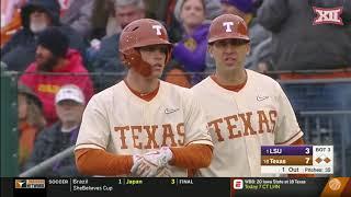 LSU vs Texas Baseball Highlights - Game 2