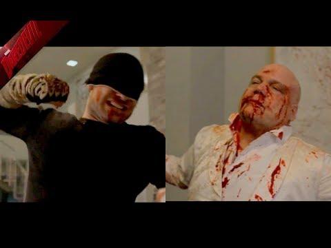 DAREDEVIL 3X13 - Pelea final (Parte 2)   Tenemos un trato - Daredevil vs Kingpin   Vanessa Fisk.