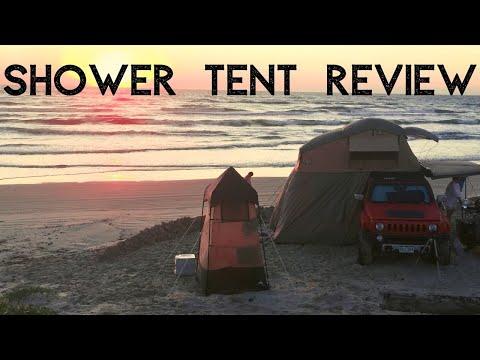 Ozark Lighted Shower Tent Review