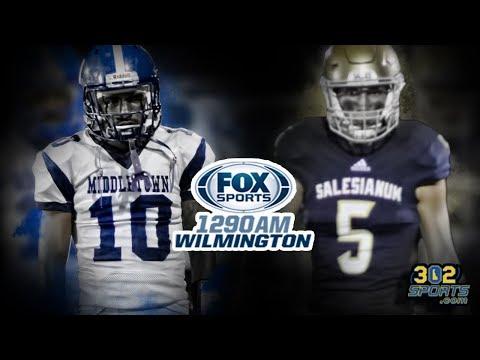 Salesianum visits Middletown LIVE from Cavalier Stadium 302 Sports/Fox Sports 1290