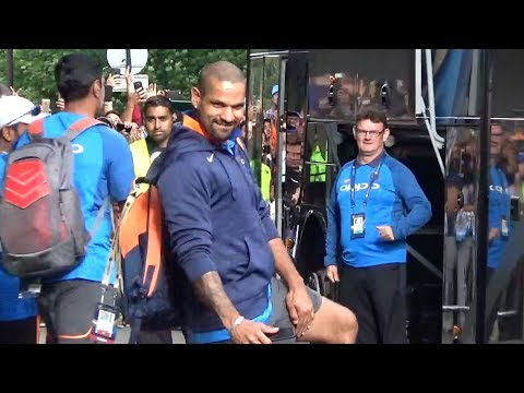ICC Champions Trophy 2017: Indian players leave from Edgbaston Stadium