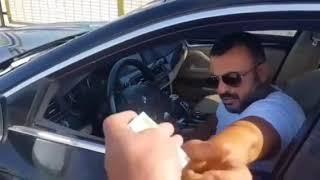 Bulgaristan gümrüğünde Bulgar polis ve Şakir Düz(Trol video)