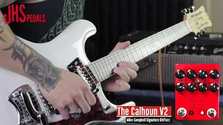 JHS Pedals The Calhoun V2 -  Mike Campbell Signature Overdrive/Fuzz demo by RJ Ronquillo