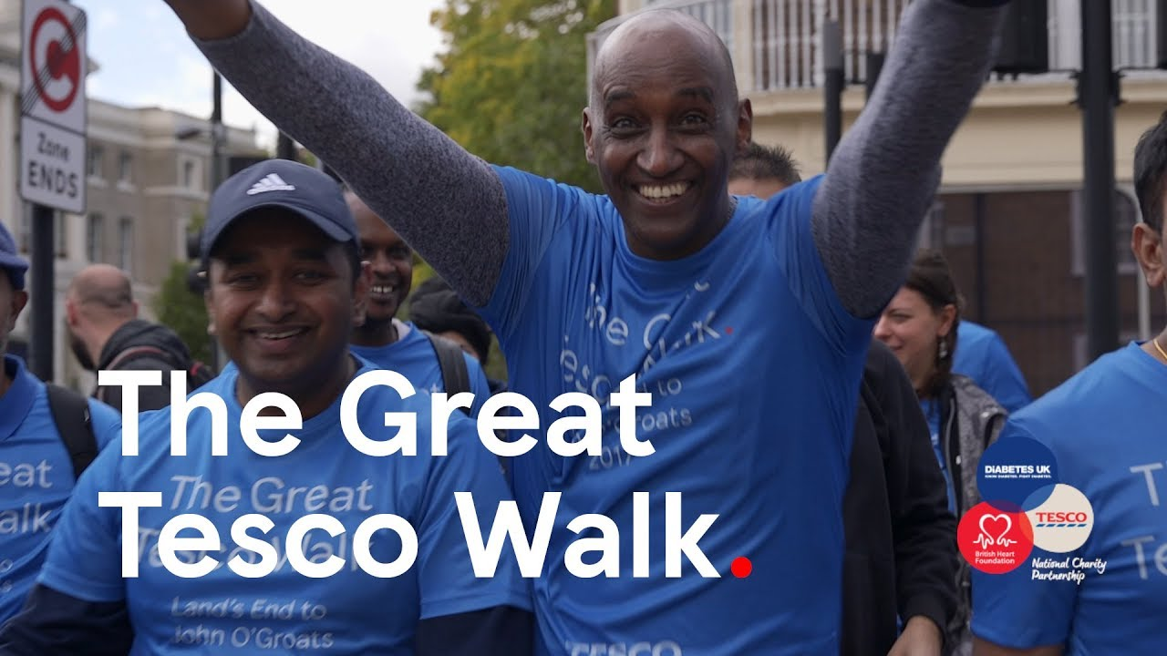 The Great Tesco Walk Reaches London