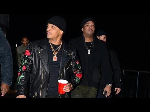 Rapper T.I. from VH1 the Family Hustle