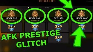 BO4 PRESTIGE MASTER GLITCH! BO4 XP GLITCH! BLACK OPS 4 GLITCHES! BO4 ZOMBIES XP GLITCH! BO4 GLITCH!