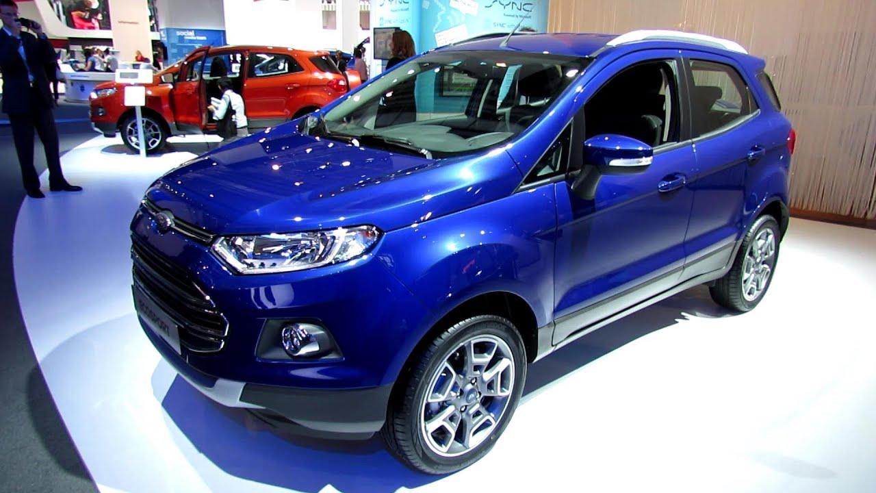 2014 Ford Ecosport Exterior And Interior Walkaround