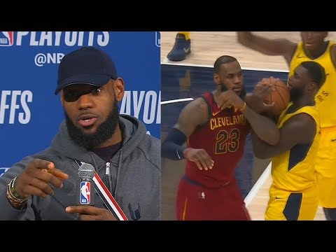 "LeBron James Calls Out Lance Stephenson For Flopping Causing Technical Foul ""He Fell To Half Court'"