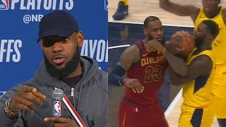 LeBron James Calls Out Lance Stephenson For Flopping Causing Technical Foul