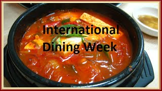 International Dining Week