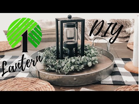 Dollar Tree DIY Lantern | Dollar Tree Home Decor | Farmhouse | 2019
