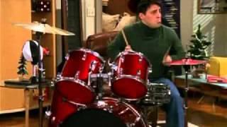 Friends: Joey Drum solo