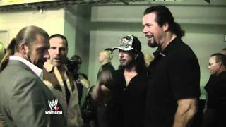 WrestleMania XXVII Diary: Shawn Michaels and Triple H reunite with long time friends