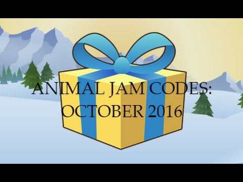 Animal Jam: Updated Code List (As of October 2016)