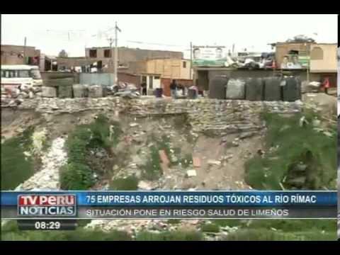 Río Rimac: El más contaminado de Sudamérica