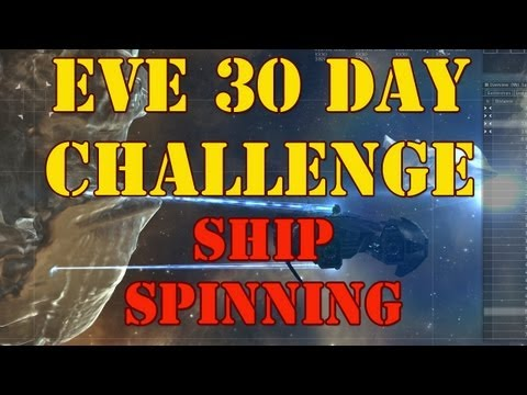 EVE Challenge - Joining Fleets, Ship Spinning, Fittings, Skills, Shields, Cargo - Episode 2