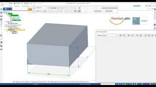 Solid Edge 2020 Trick and Tip: การปรับเปลี่ยนรูปร่าง 3D จากค่าในโปรแกรม Excel