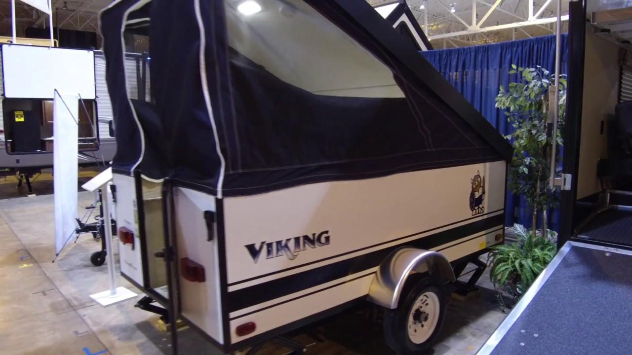 2017 Viking Express Ultra Light Pop Up Camper Video