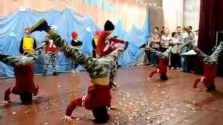 Legion dance studio в г.Мироновка (Новый Год)школа №3
