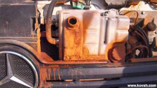 Ржавчина в системе охлаждения после воды в MERCEDES  ATEGO(, 2011-11-21T21:19:18.000Z)