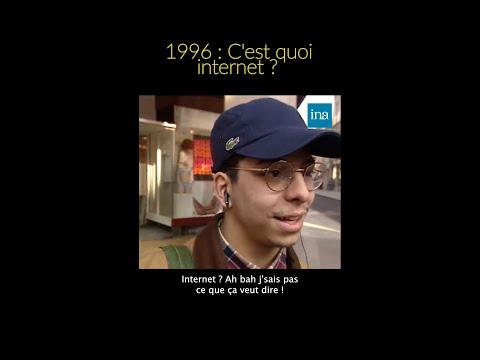 1996 : Internet, c�€�est quoi ?! 😅 #INA #shorts
