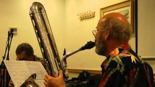 """BEAU KOO JACK"": HOT JAZZ TRIO at WHITLEY BAY (July 11, 2010"