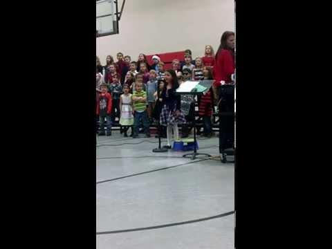 Townsend Elementary (Vandercook Lake, MI) Christmas Concert 12-10-14