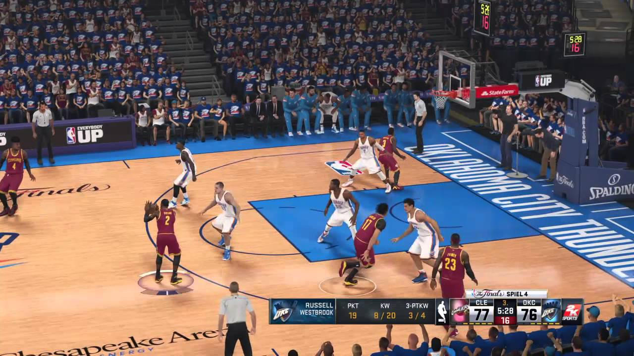 NBA PLAYOFFS@PS4 - NBA Finals 2016: Oklahoma Thunder ...